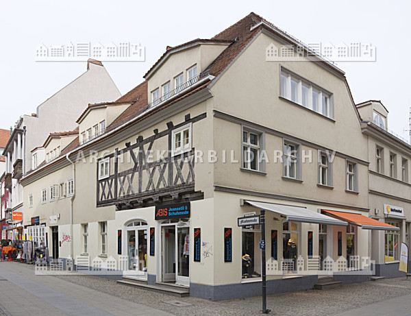 altstadt berlin spandau wohnhaus markt charlottenstra e architektur bildarchiv. Black Bedroom Furniture Sets. Home Design Ideas