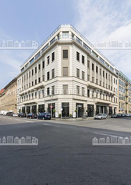 b ro und gesch ftshaus franz sische stra e 40 berlin architektur bildarchiv. Black Bedroom Furniture Sets. Home Design Ideas