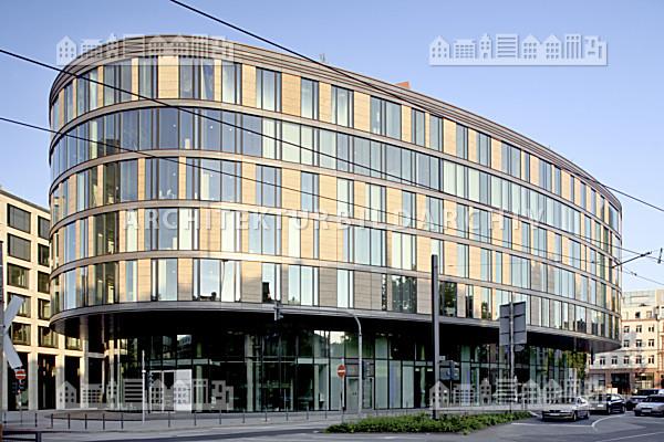B rogeb ude oval frankfurt am main architektur bildarchiv for Architektur frankfurt