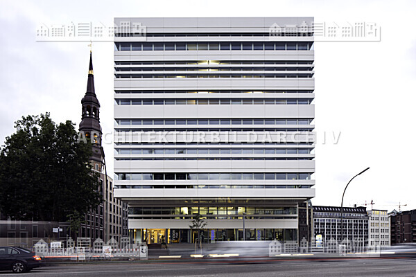 Bürogebäude Willy Brandt Straße 57 Hamburg Architektur Bildarchiv