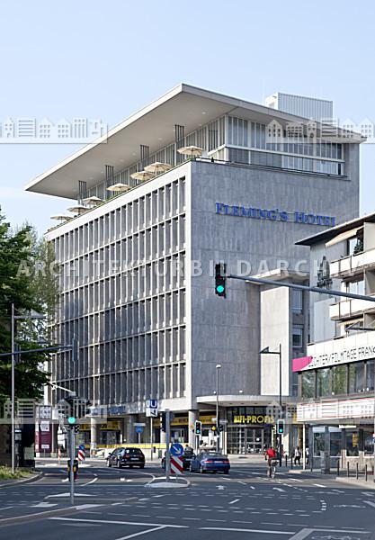 bayer haus frankfurt am main architektur bildarchiv. Black Bedroom Furniture Sets. Home Design Ideas