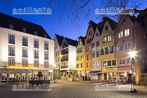 Bebauung am fischmarkt k ln architektur bildarchiv for Am fischmarkt