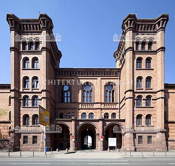 Beh rdenzentrum gutleutkaserne frankfurt am main - Fh frankfurt architektur ...