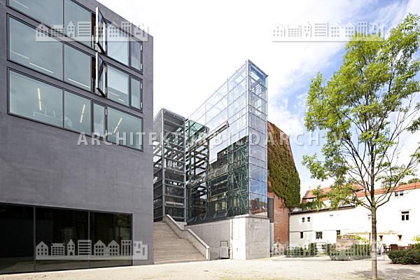 bibliothek und audimax der bauhaus universit t weimar architektur bildarchiv. Black Bedroom Furniture Sets. Home Design Ideas