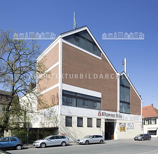 Brauerei Kitzmann Erlangen - Architektur-Bildarchiv