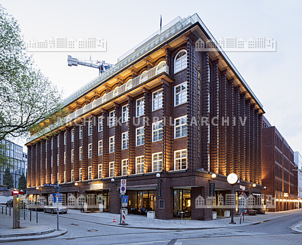 broschekhaus hotel renaissance hamburg architektur bildarchiv. Black Bedroom Furniture Sets. Home Design Ideas