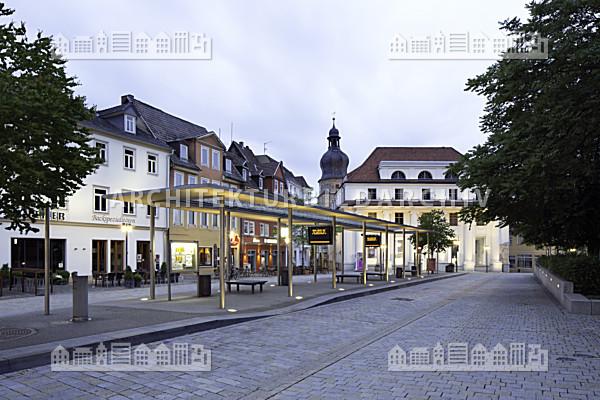 bushaltestelle theaterplatz coburg architektur bildarchiv. Black Bedroom Furniture Sets. Home Design Ideas