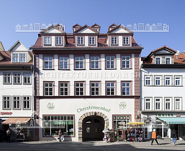 chrestensenhof erfurt architektur bildarchiv. Black Bedroom Furniture Sets. Home Design Ideas