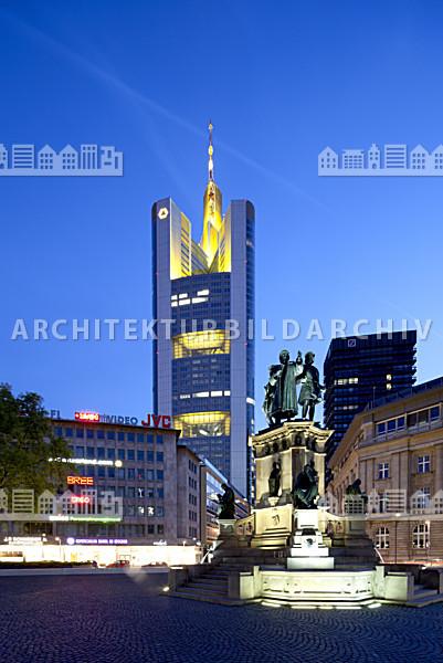 commerzbank hochhaus frankfurt am main architektur bildarchiv. Black Bedroom Furniture Sets. Home Design Ideas