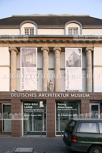 Deutsches Architektur Museum Frankfurt Am Main Architektur Bildarchiv