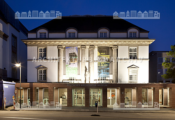 Deutsches architektur museum frankfurt am main for Frankfurt architekturmuseum
