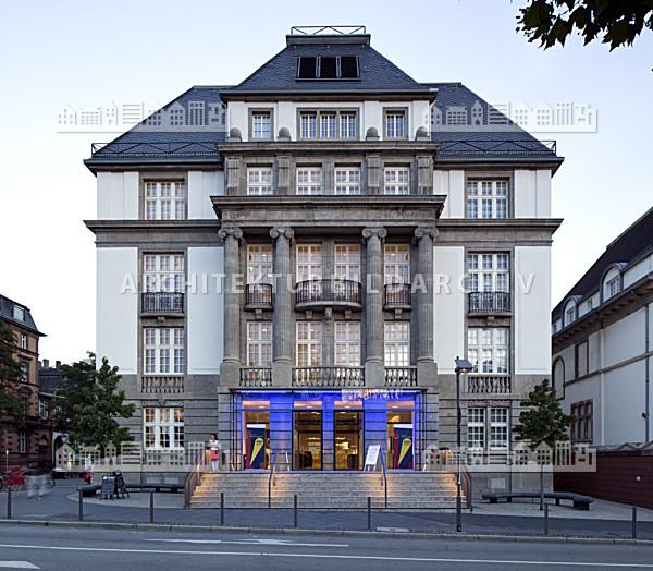 Deutsches filmmuseum frankfurt am main architektur for Architektur frankfurt