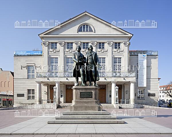 Deutsches nationaltheater weimar architektur bildarchiv - Architektur weimar ...