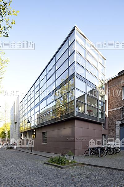 Domsingschule aachen erweiterungsbau architektur for Architektur aachen