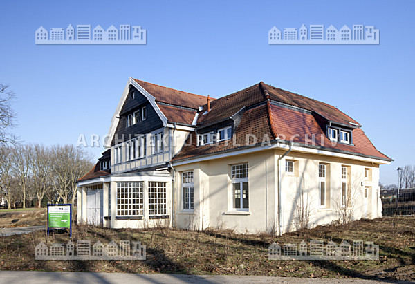 Ehemaliges waagehaus der galopprennbahn gelsenkirchen architektur bildarchiv - Architekt gelsenkirchen ...