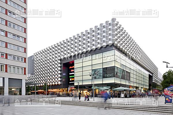 Einkaufszentrum Centrum Galerie Dresden Architektur Bildarchiv