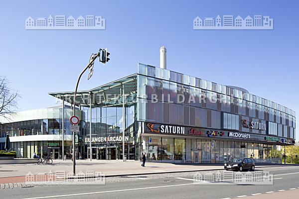einkaufszentrum erlangen arcaden architektur bildarchiv. Black Bedroom Furniture Sets. Home Design Ideas