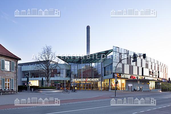 Einkaufszentrum erlangen arcaden architektur bildarchiv - Architekt erlangen ...