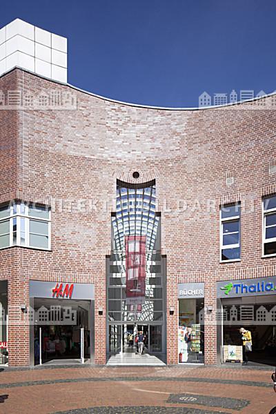 Architekten Coesfeld einkaufszentrum kupfer passage coesfeld architektur bildarchiv