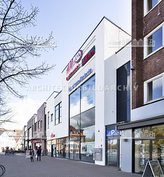 Einkaufszentrum Nordsee Galerie Cuxhaven Architektur Bildarchiv