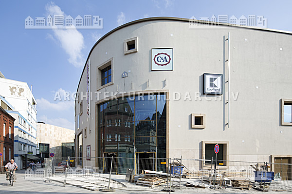 Architekten Recklinghausen einkaufszentrum palais vest recklinghausen architektur bildarchiv