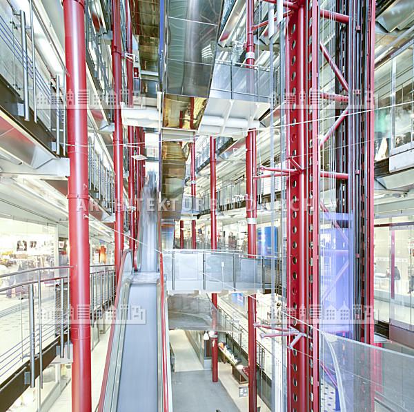 Einkaufszentrum zeilgalerie frankfurt am main for Mediendesign frankfurt