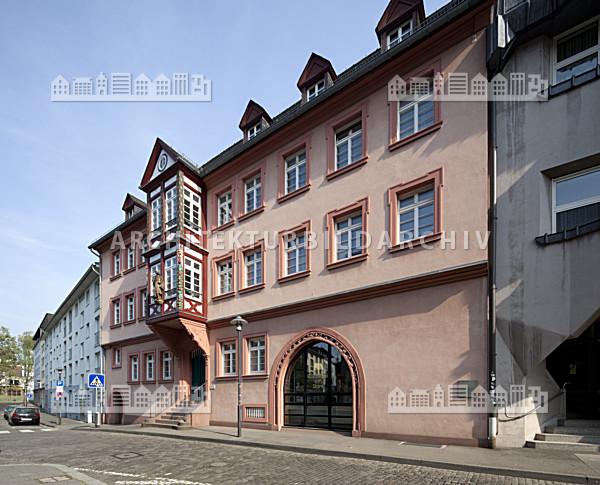 erbacher hof b cherei am dom mainz architektur bildarchiv. Black Bedroom Furniture Sets. Home Design Ideas