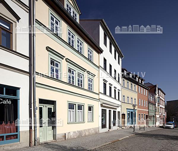 Gesch ftsh user kaufstra e weimar architektur bildarchiv - Architektur weimar ...
