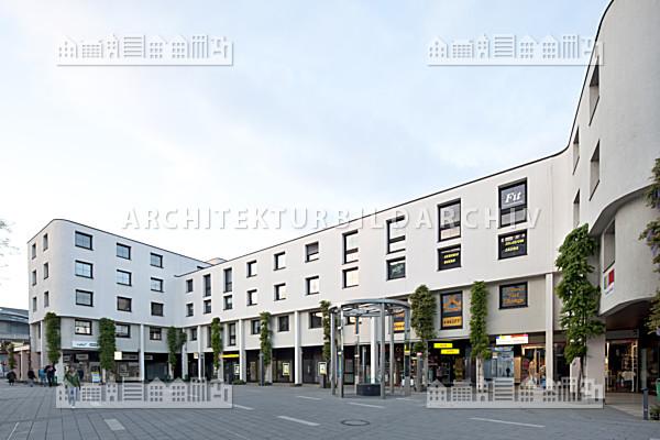 gesch ftshaus bahnhofstra e 20 24 wetzlar architektur. Black Bedroom Furniture Sets. Home Design Ideas