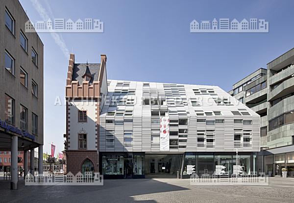 gesch ftshaus markt 11 13 markth user mainz architektur bildarchiv. Black Bedroom Furniture Sets. Home Design Ideas