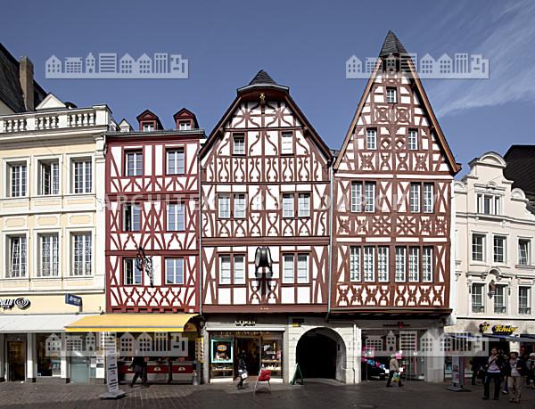 Gesch ftsh user hauptmarkt 22 23 trier architektur bildarchiv - Architekt trier ...