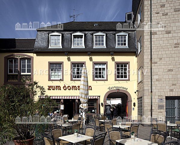 Gesch ftshaus hauptmarkt 5 domfreihof trier architektur bildarchiv - Architekt trier ...