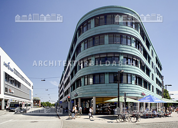 gesch ftszentrum linden arcaden l beck architektur. Black Bedroom Furniture Sets. Home Design Ideas