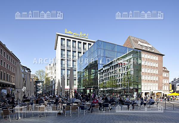 Glaskubus aachen architektur bildarchiv for Architektur aachen