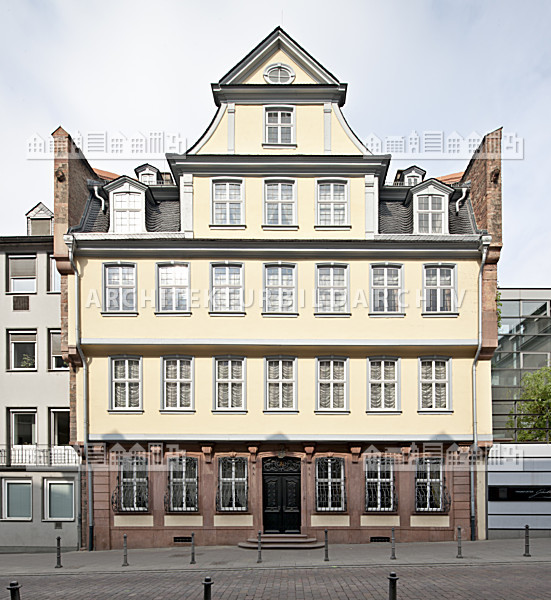goethe haus frankfurt am main architektur bildarchiv. Black Bedroom Furniture Sets. Home Design Ideas