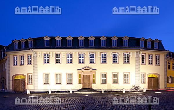 Goethes wohnhaus weimar architektur bildarchiv - Architektur weimar ...