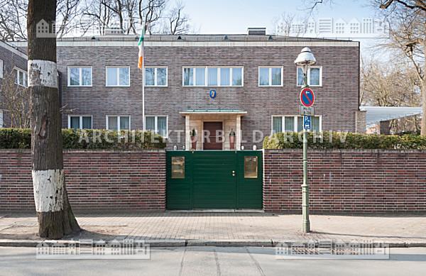Haus flechtheim botschaftsresidenz von irland in berlin for Architektur 1929