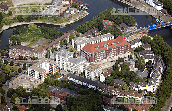 Haus Ruhrort 1000 Fenster Haus Duisburg Architektur Bildarchiv