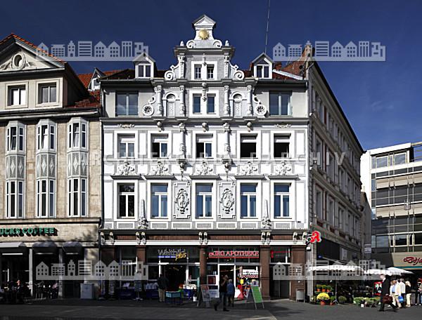 Haus zur Sonne am Kohlmarkt Braunschweig Architektur