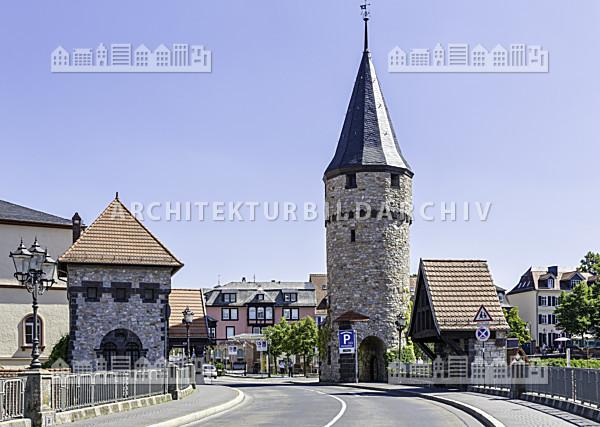 hexenturm und br ckenw rterhaus bad homburg architektur bildarchiv. Black Bedroom Furniture Sets. Home Design Ideas