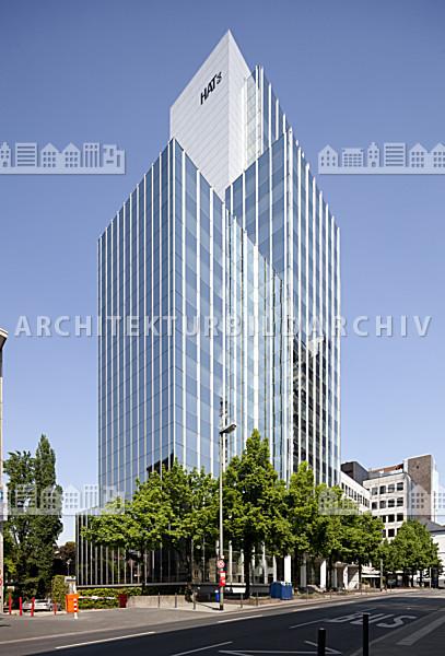 Hochhaus am turm hat 64 frankfurt am main architektur for Architektur frankfurt