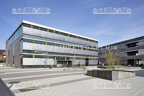 Hochschule Rhein-Waal – Campus Kamp-Lintfort - Architektur-Bildarchiv