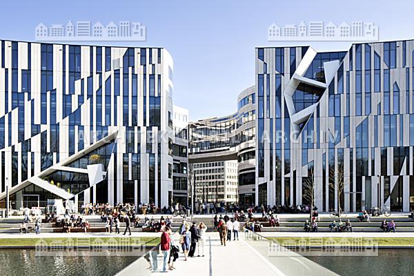 K bogen d sseldorf architektur bildarchiv - Architekten in dusseldorf ...