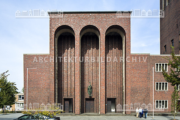 kirche st mari geburt m lheim an der ruhr architektur bildarchiv. Black Bedroom Furniture Sets. Home Design Ideas