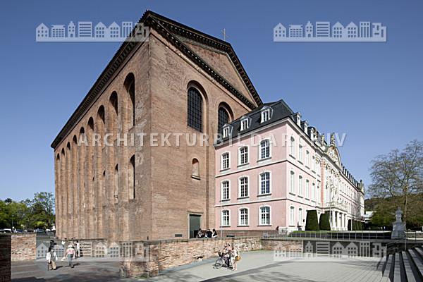 Konstantin basilika trier architektur bildarchiv - Architekt trier ...