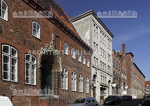 Architektur Lübeck kontorhäuser alfstraße lübeck architektur bildarchiv