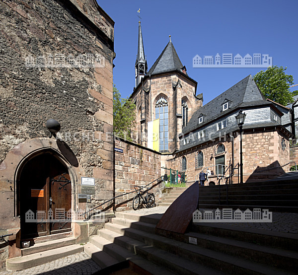 kugelkirche marburg architektur bildarchiv. Black Bedroom Furniture Sets. Home Design Ideas