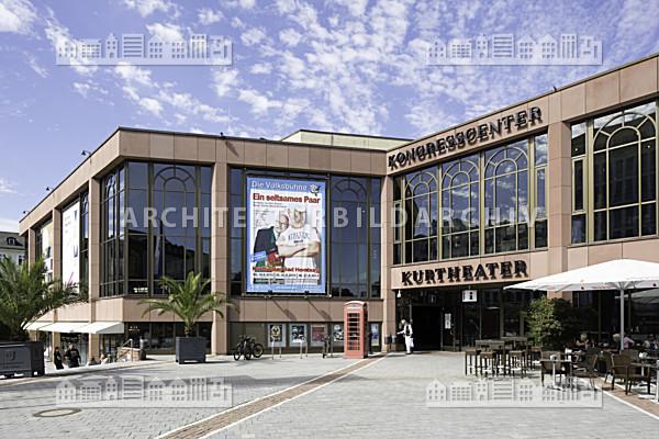 kurhaus und kongresscenter bad homburg architektur bildarchiv. Black Bedroom Furniture Sets. Home Design Ideas