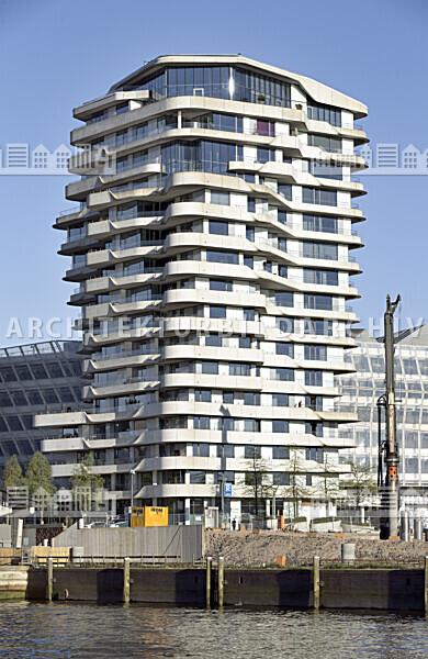 Marco-Polo-Tower Hamburg - Architektur-Bildarchiv