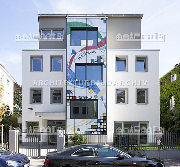 montessori kinderhaus frankfurt am main architektur. Black Bedroom Furniture Sets. Home Design Ideas
